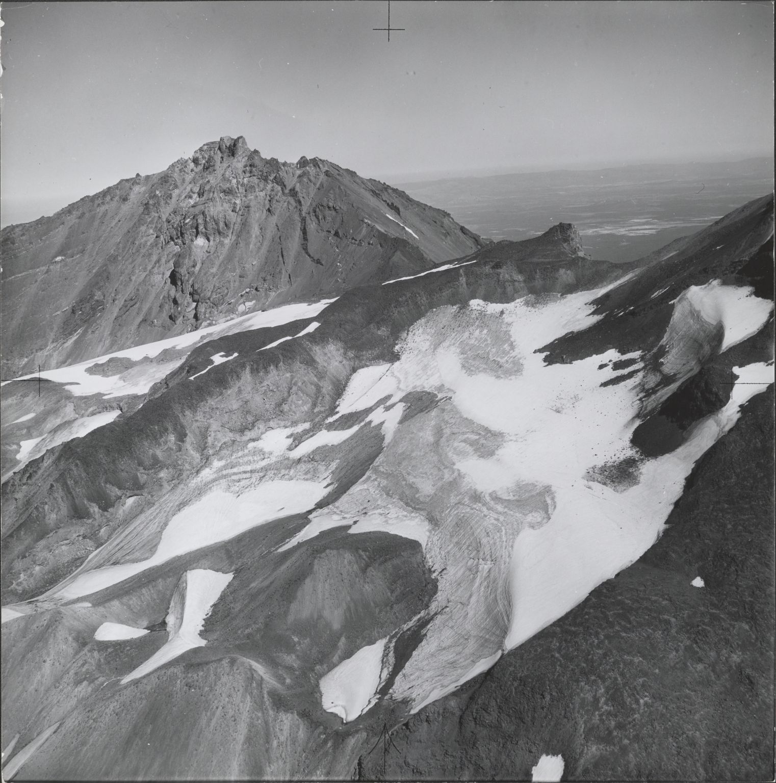 Renfrew Glacier, aerial photograph roll no. 21 exposure 63, Oregon