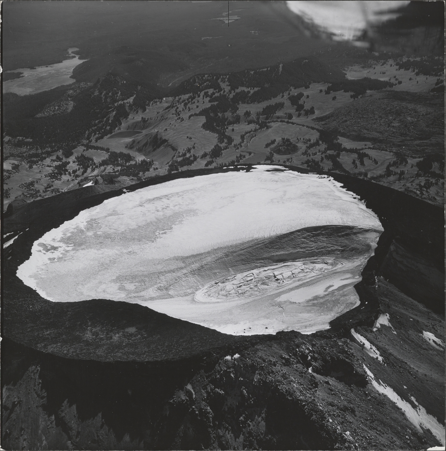 South Sister, aerial photograph roll no. 21 exposure no. 87, Oregon