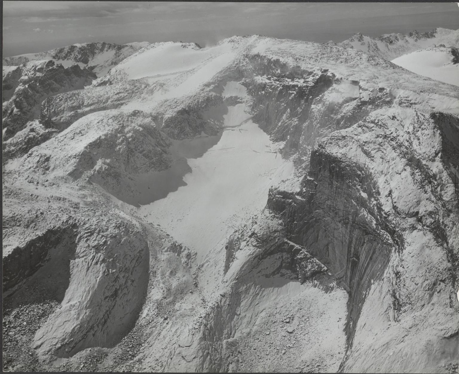 Unknown glacier near Brown Cliffs, Wyoming