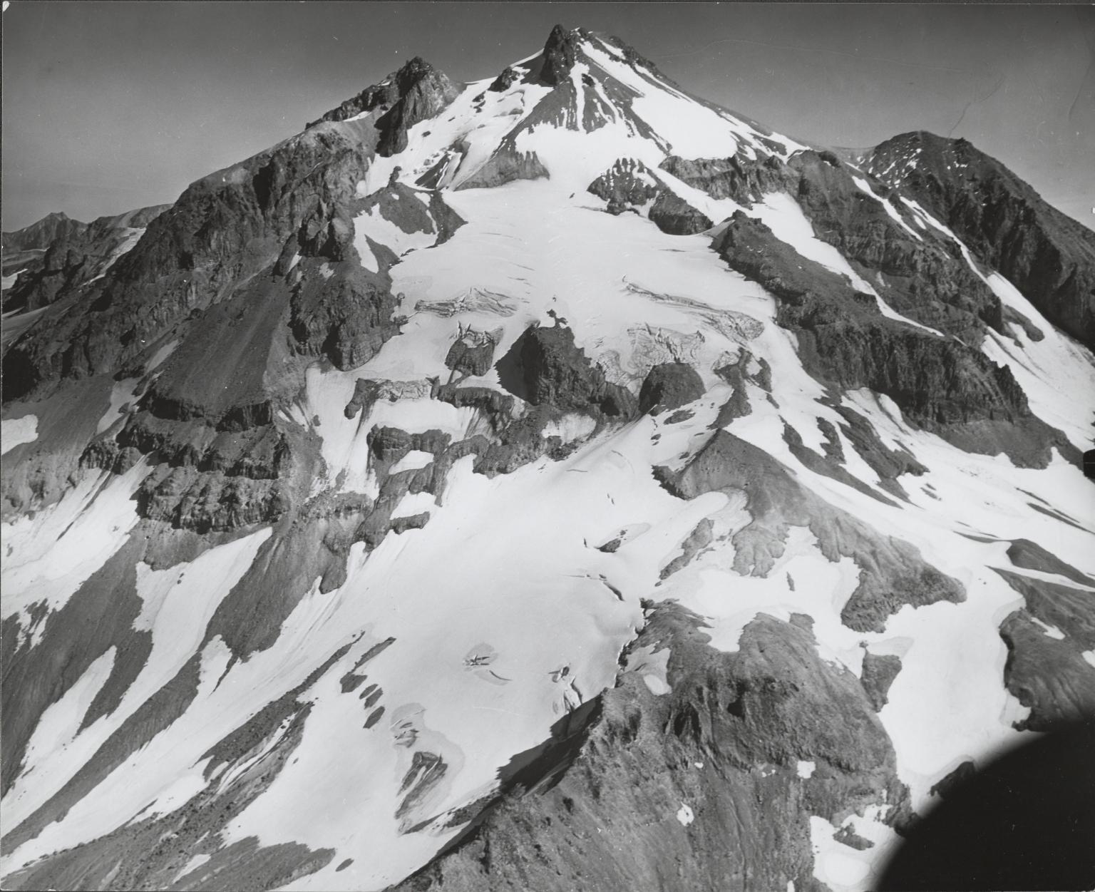 Glacier Peak, aerial roll no. 25 exposure no. 6, Washington