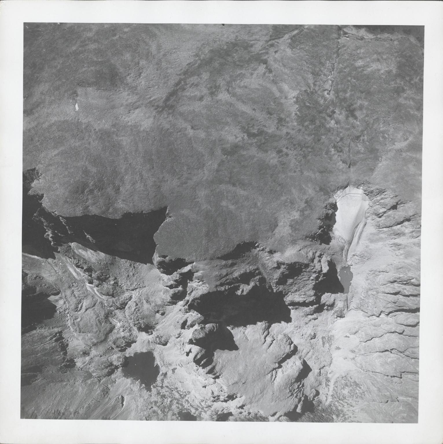 Andrews Glacier, aerial photograph FAM 3120 1, Colorado