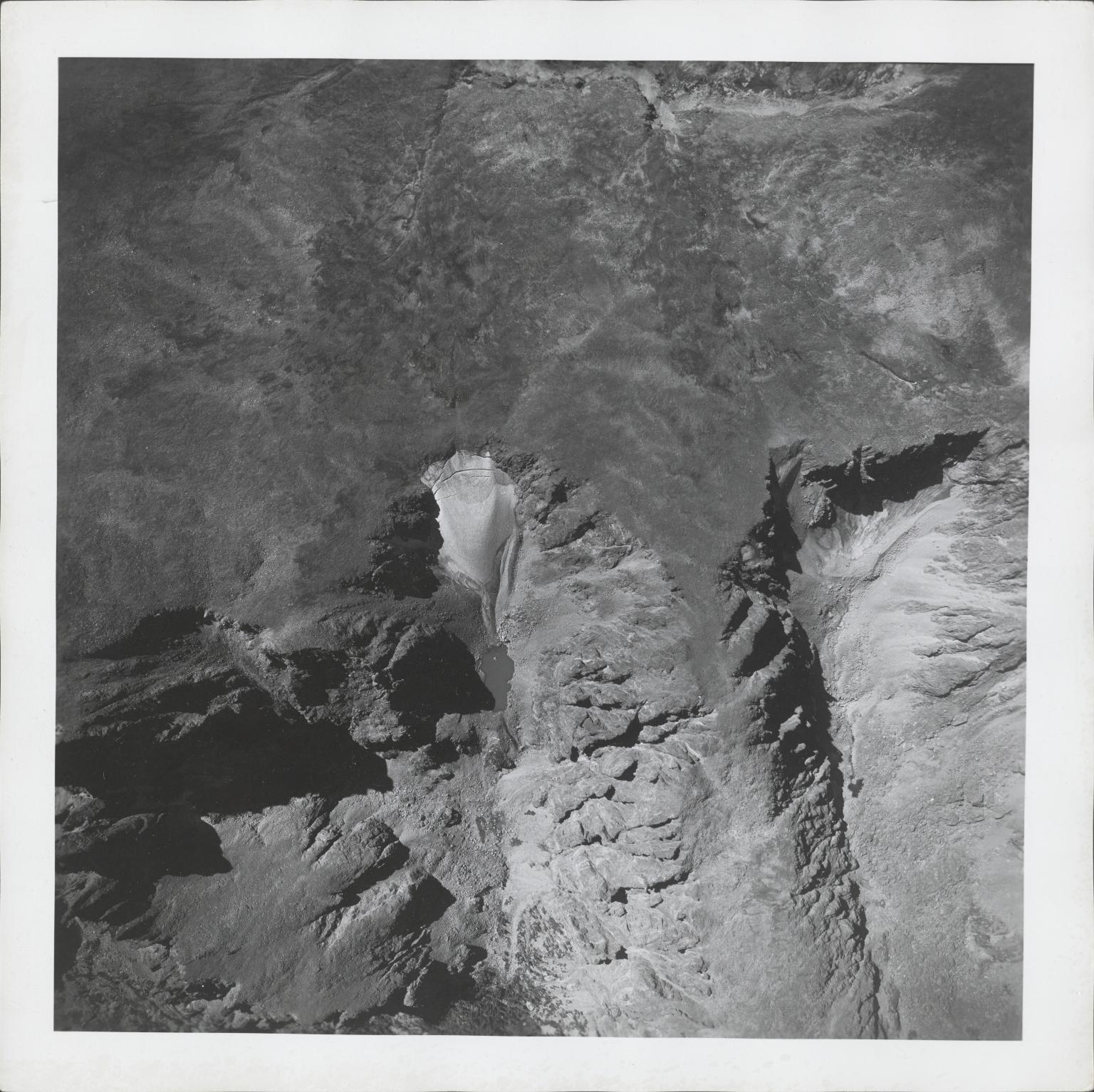 Tyndall Glacier, aerial photograph FAM 3120 6 Colorado