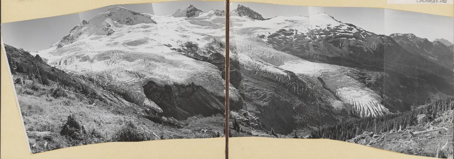 Coleman Glacier and Roosevelt Glacier, Washington