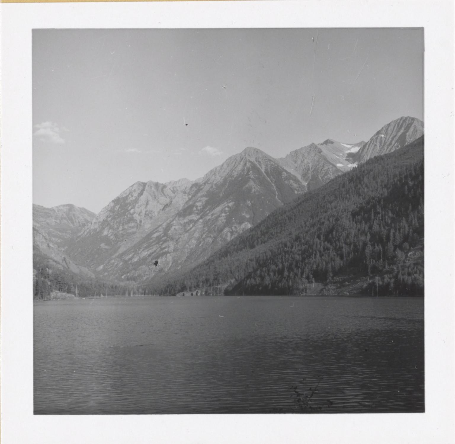 Unknown glacier, Montana