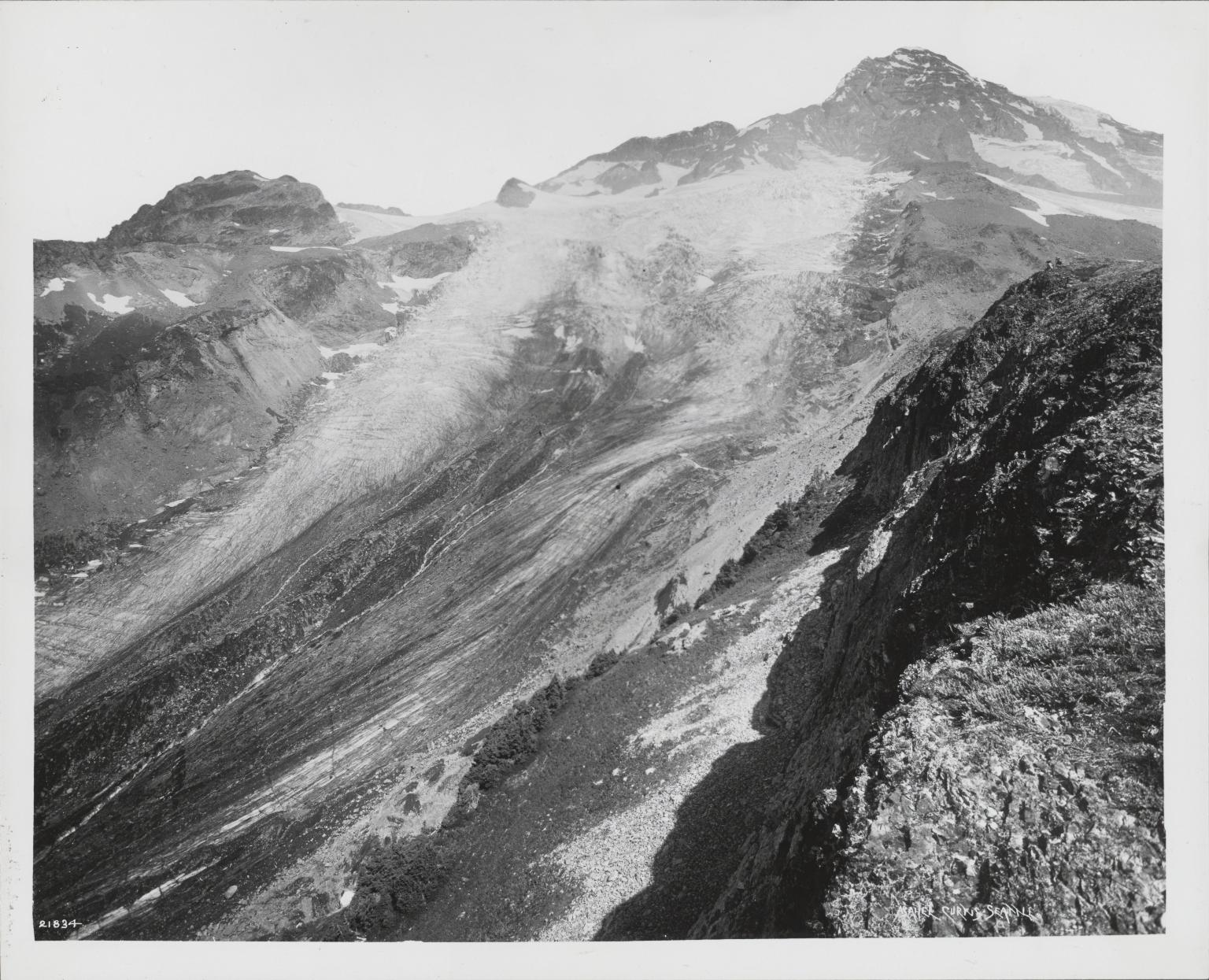 South Tahoma Glacier, Washington