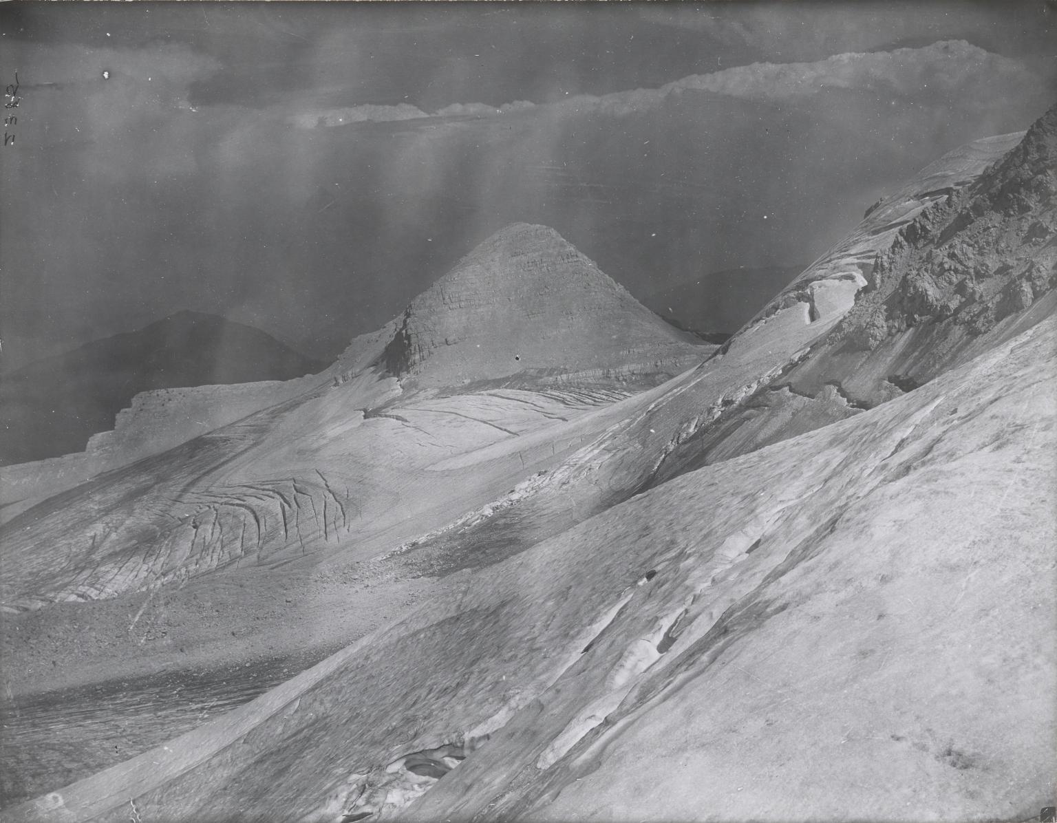 Unknown glacier, Glacier National Park, Montana