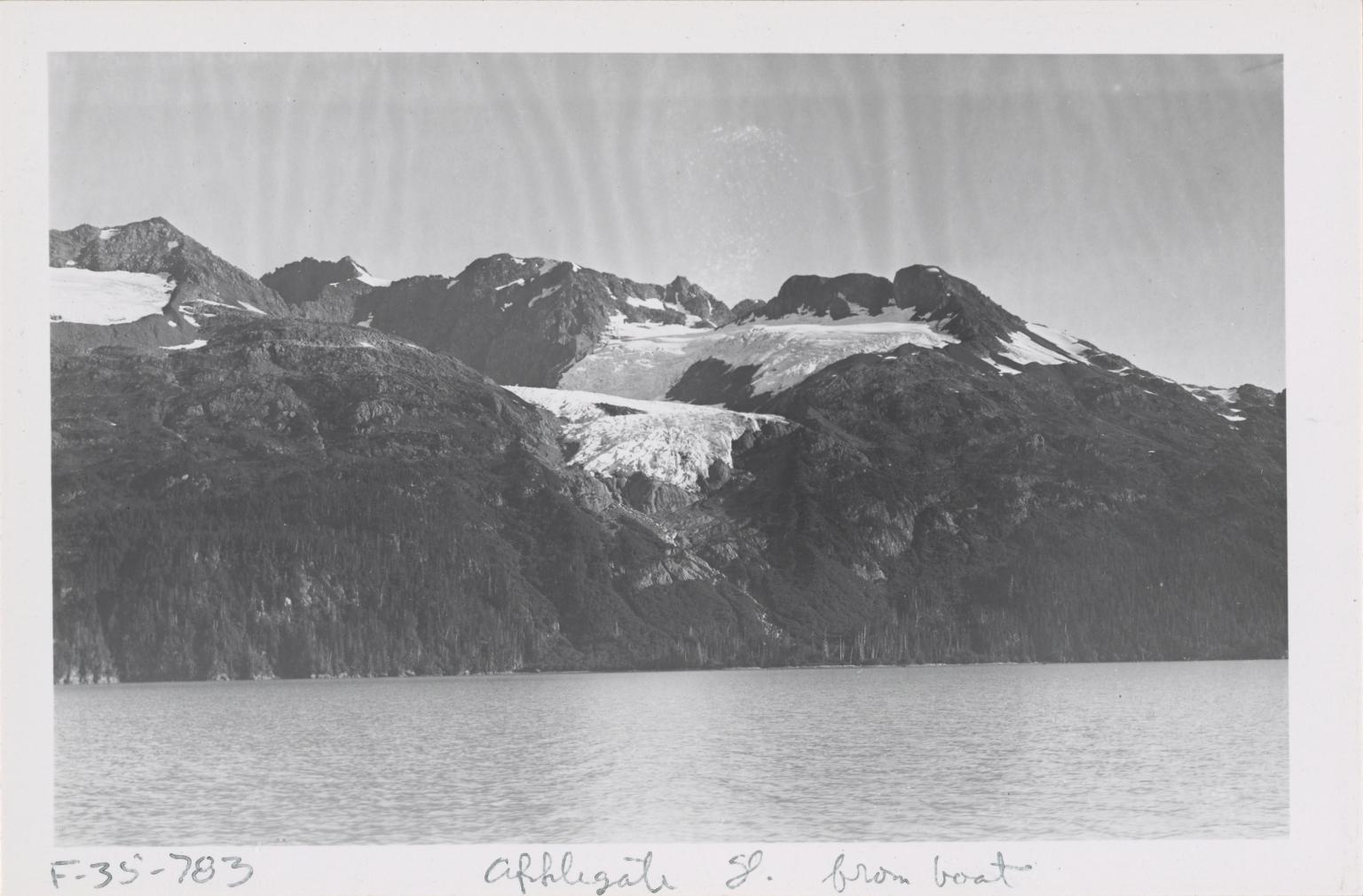 Applegate Glacier, Alaska