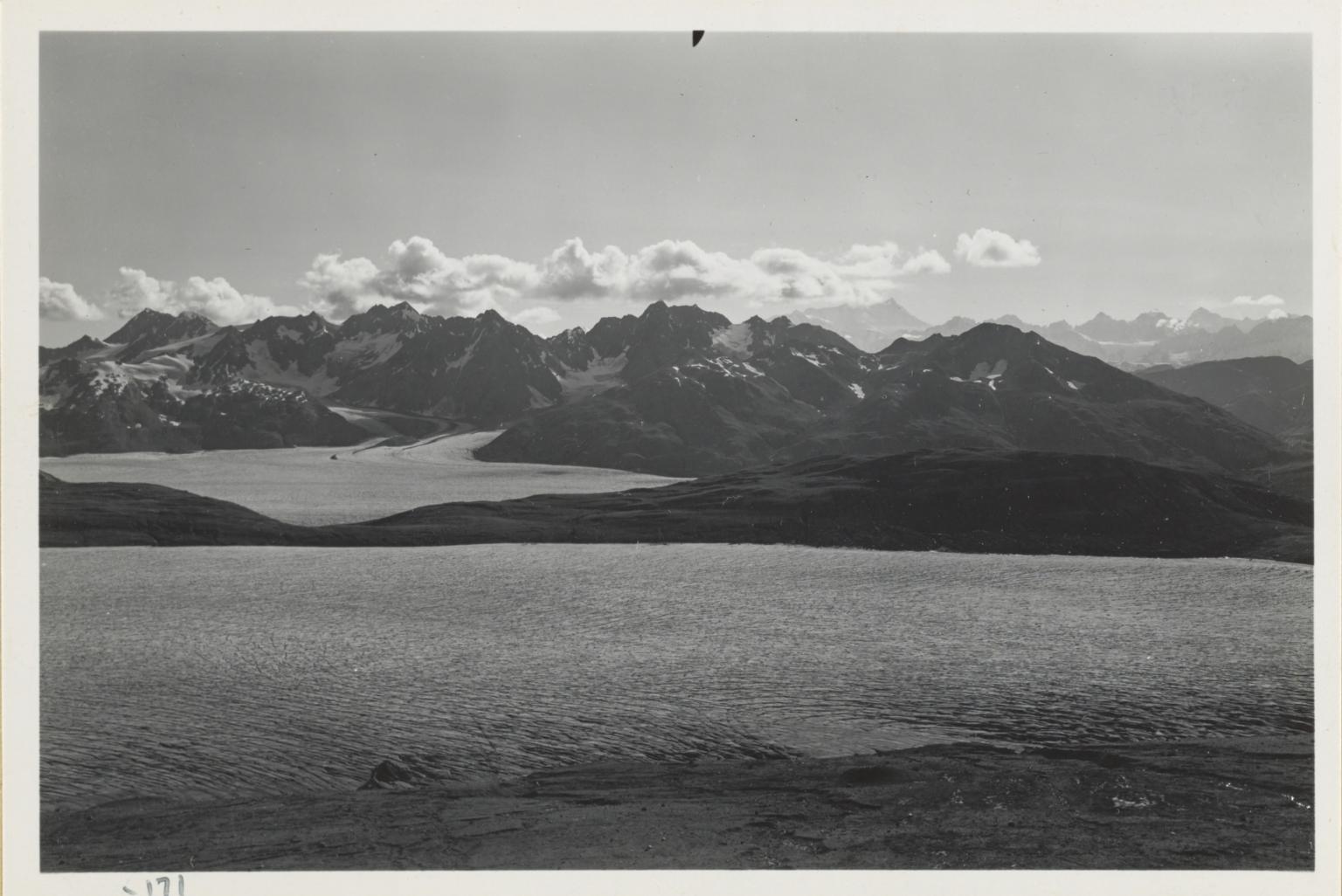 Burroughs Glacier, Alaska