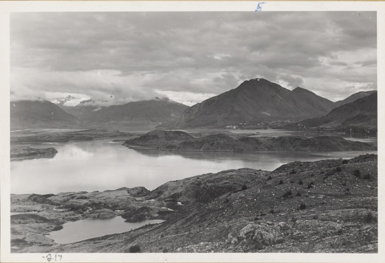 Adams Plateau Glacier, Alaska