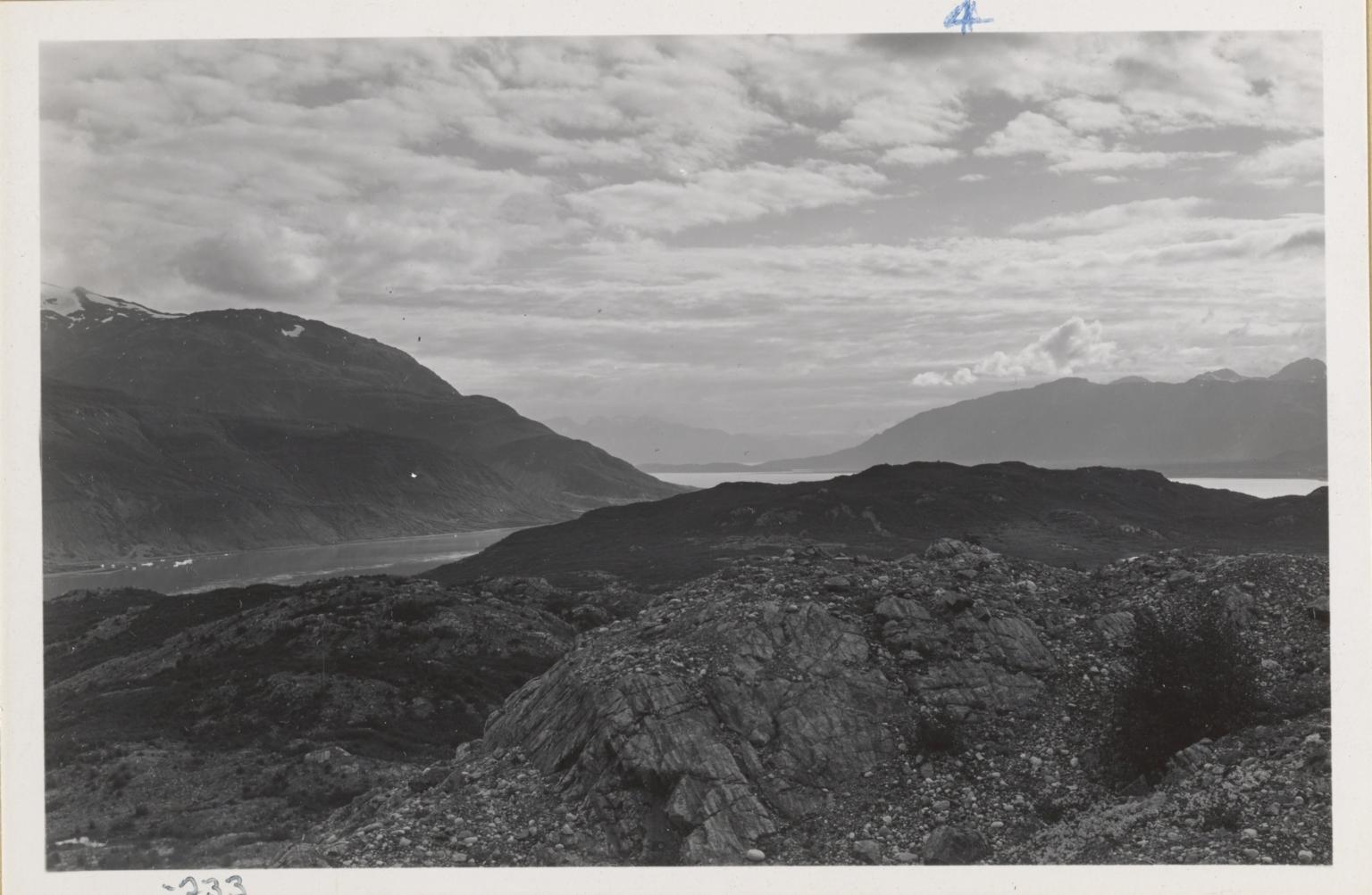 Adams Inlet and Muir Inlet, Alaska