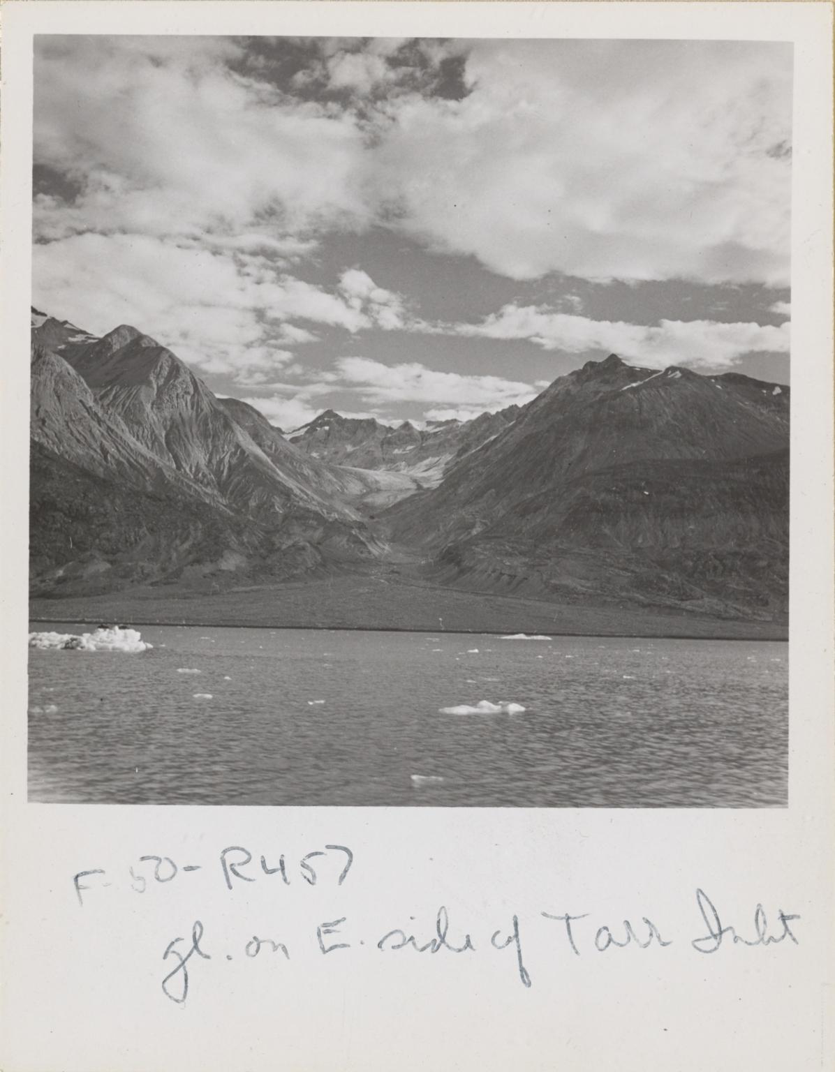 Unnamed glacier, Tarr Inlet, Alaska