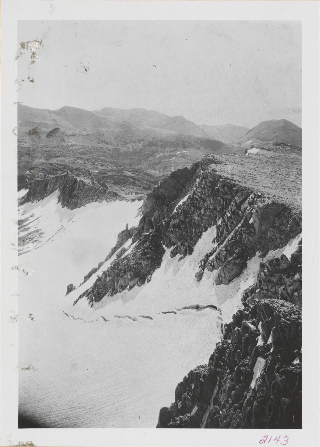 Conness Glacier, California