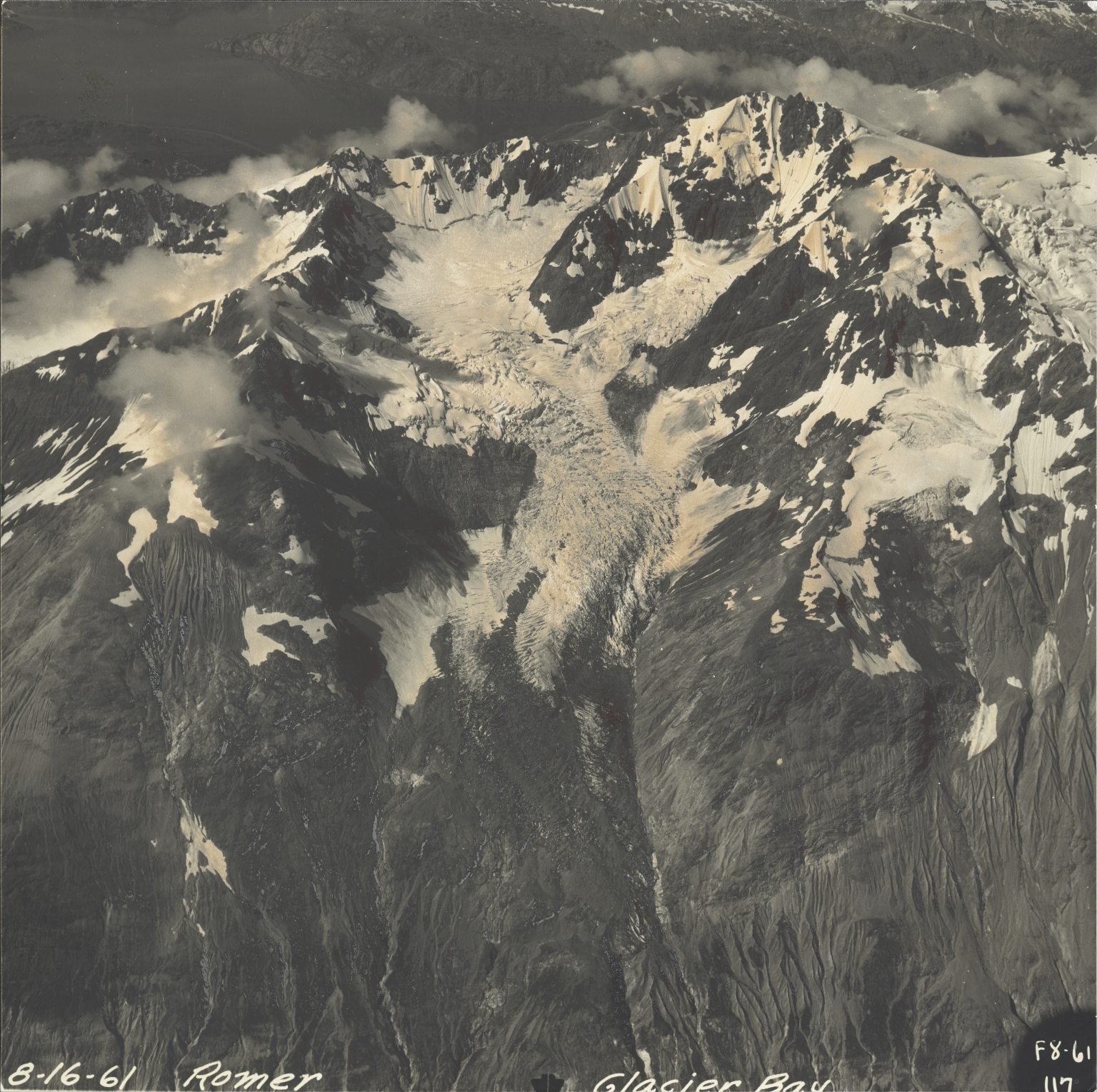 Romer Glacier, Alaska