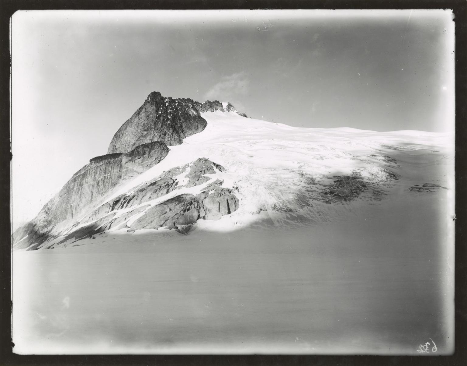 Unknown glacier, Cima di Rosso mountain, Italy