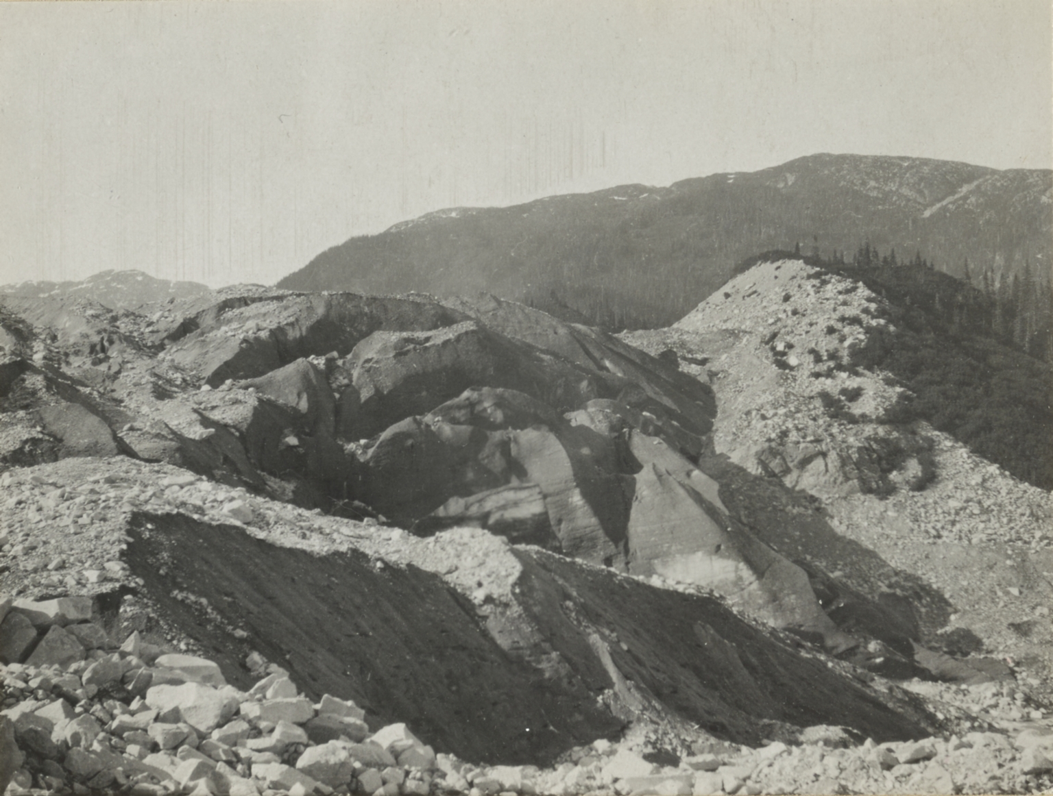 "Unknown glacier (""Dirt Glacier""), British Columbia"