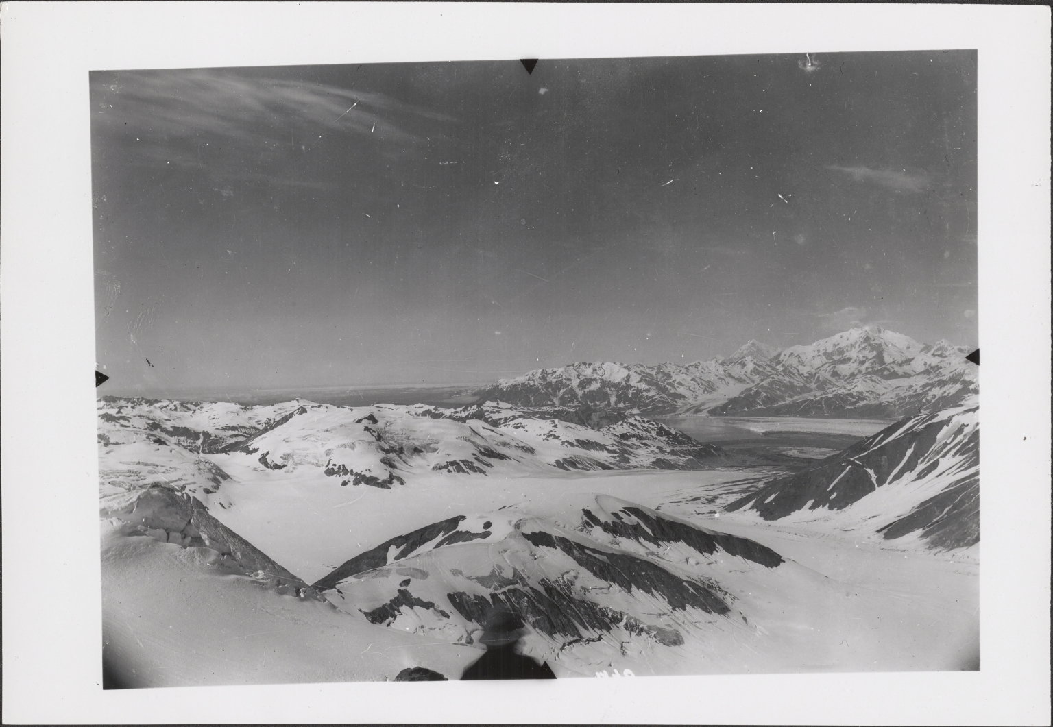 Unknown glacier, Yakutat Bay, Alaska