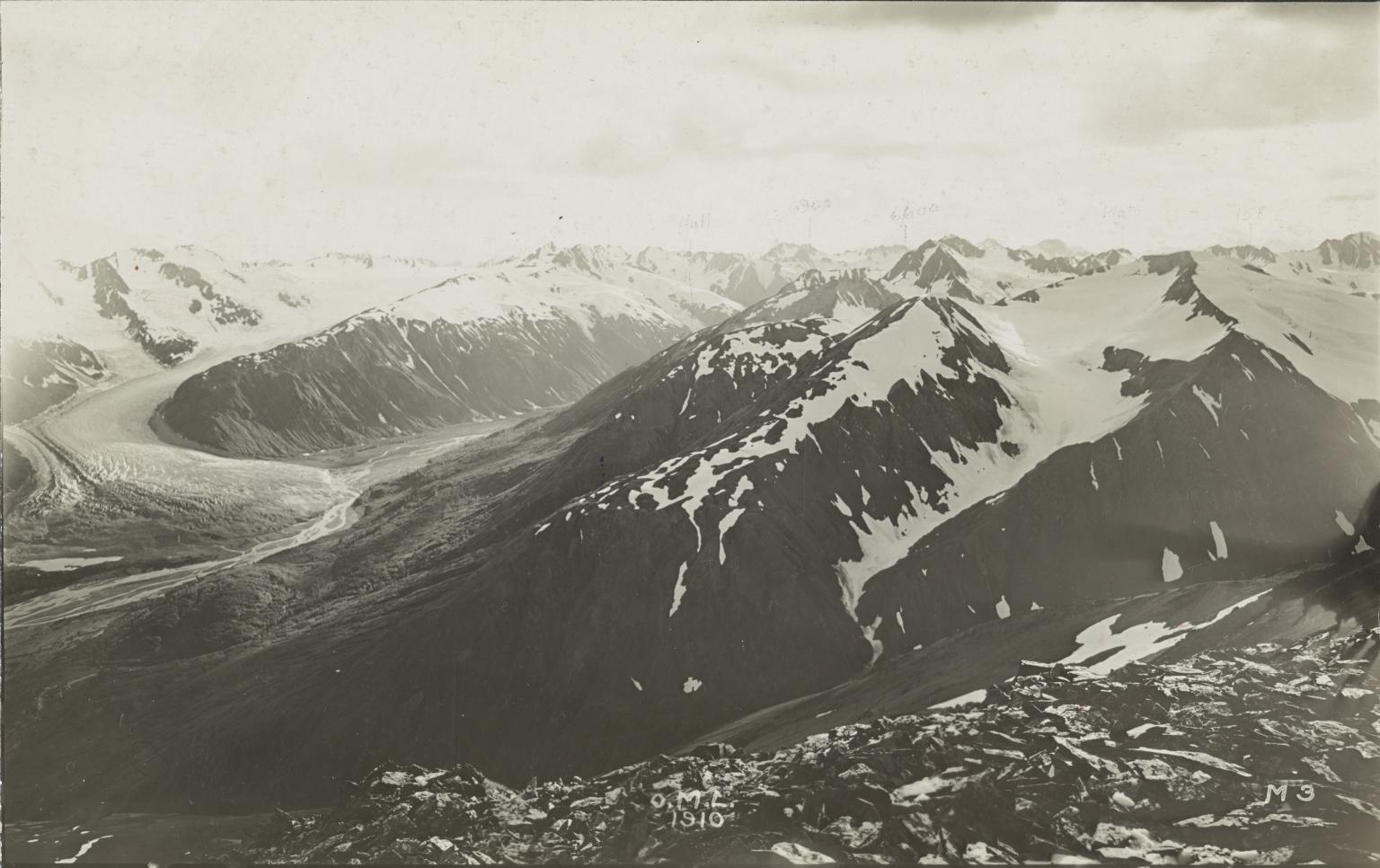 Le Blondeau Glacier, Alaska