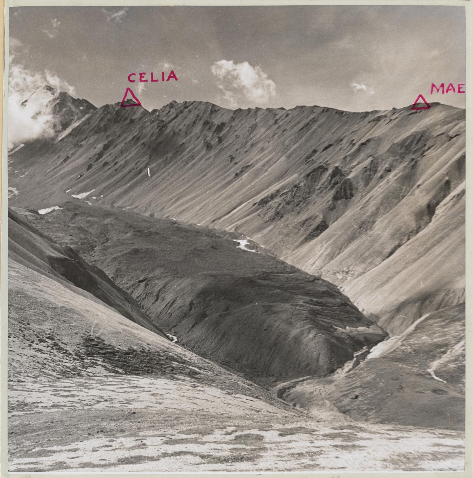Polychrome Glacier, Alaska