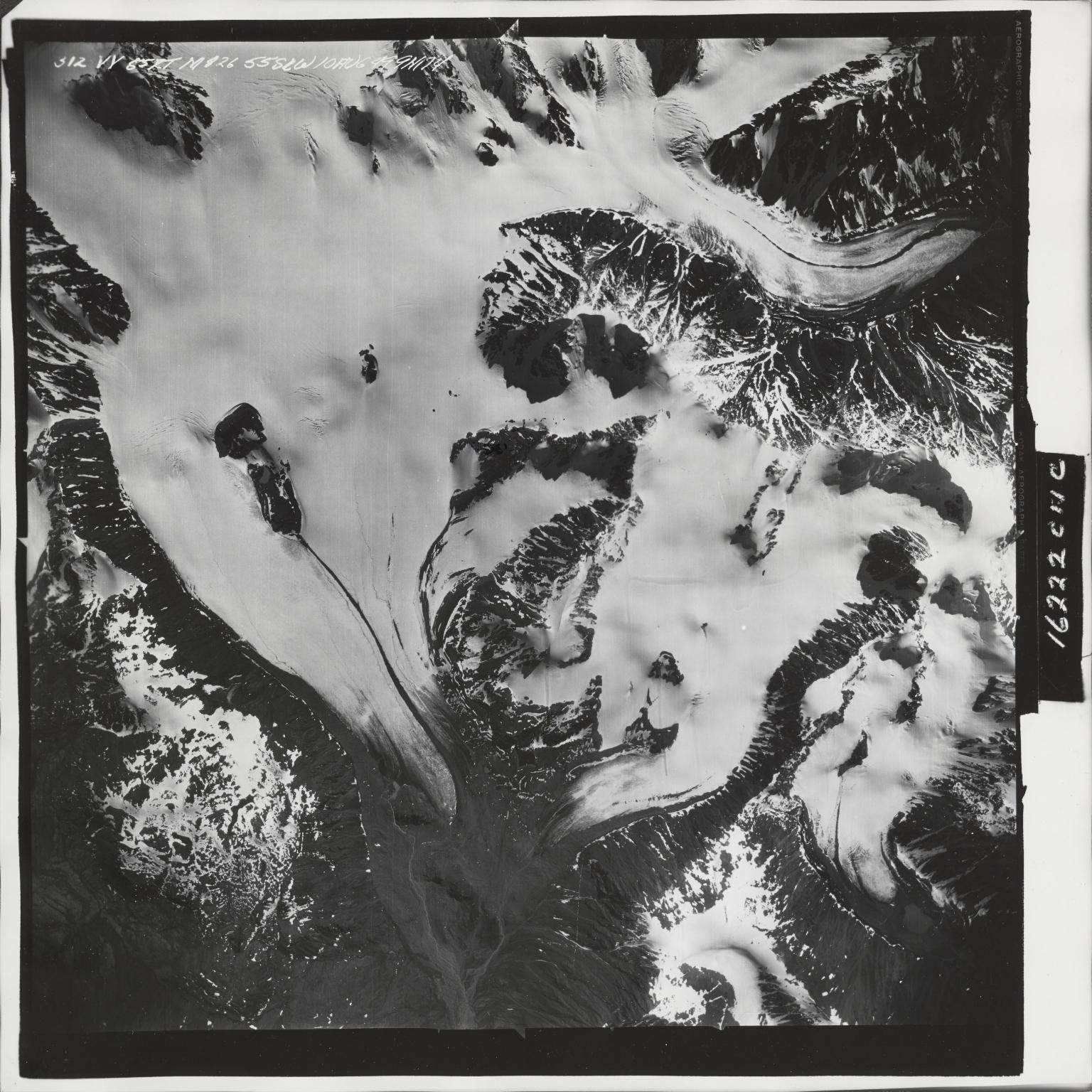 Iron Creek, aerial photograph M 826 312, Alaska