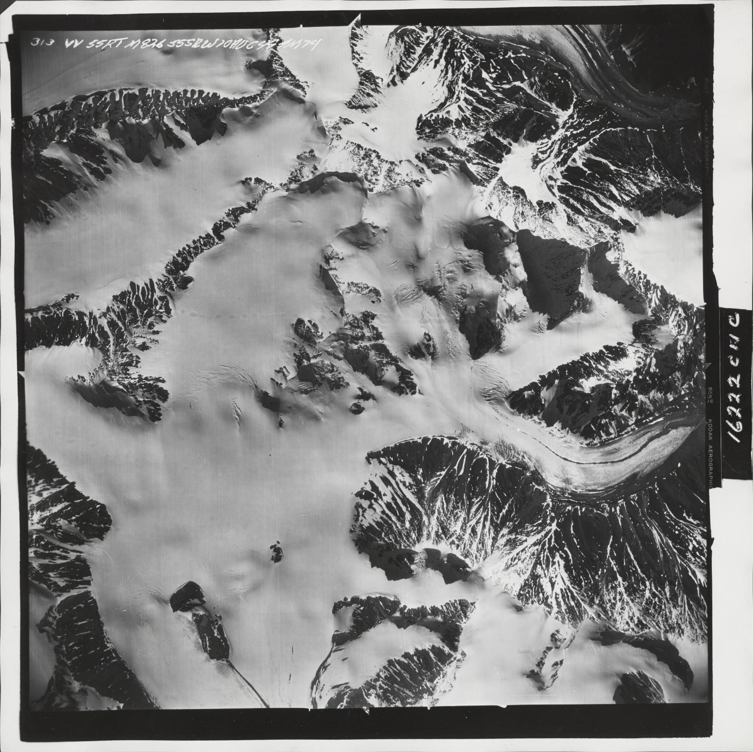 Iron Creek, aerial photograph M 826 313, Alaska