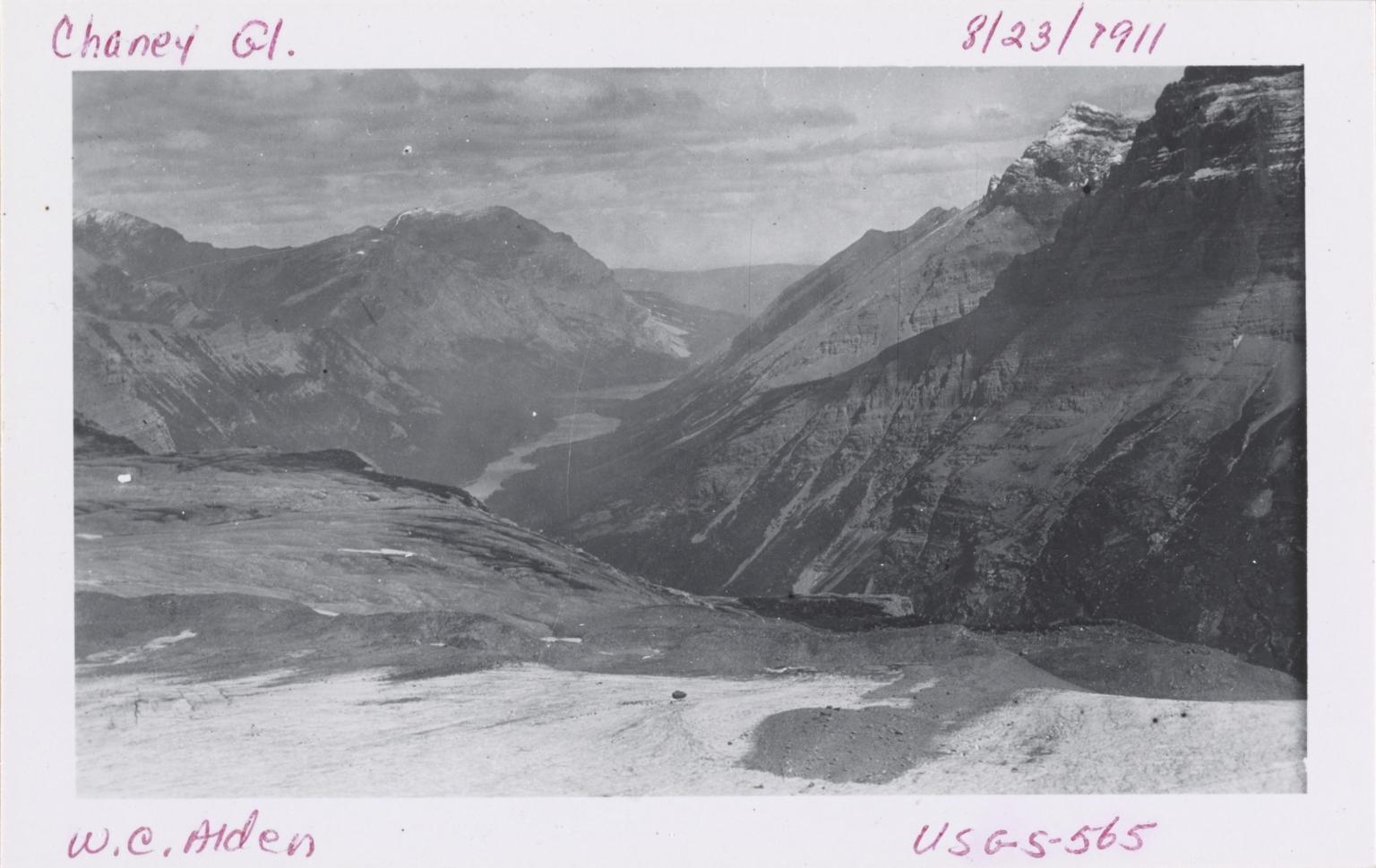 Chaney Glacier, Montana