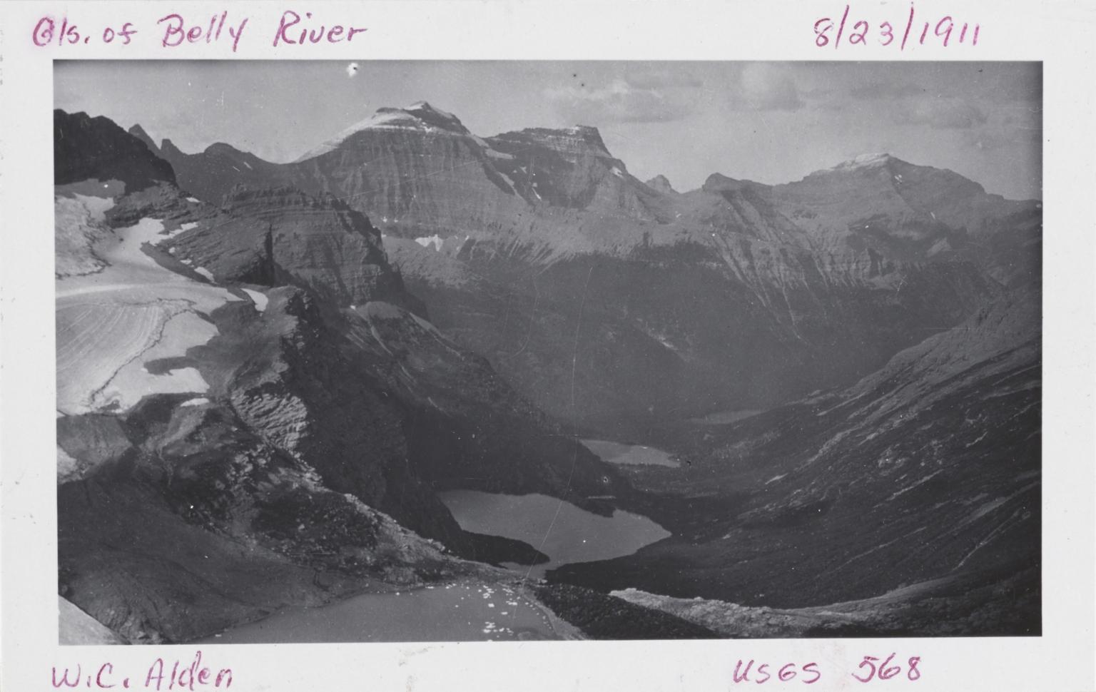 Ipasha Glacier, Montana