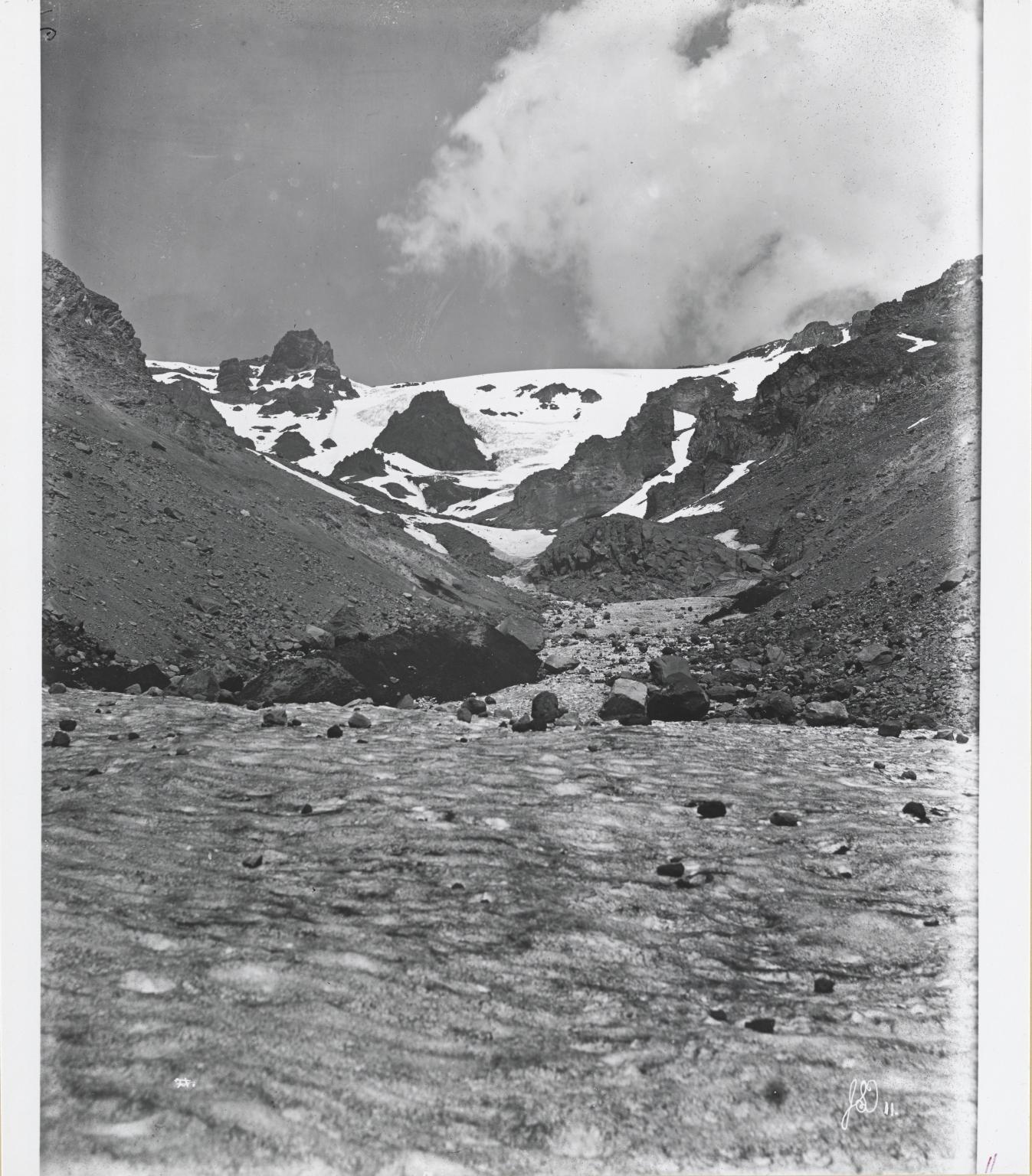 Konwakiton Glacier, California
