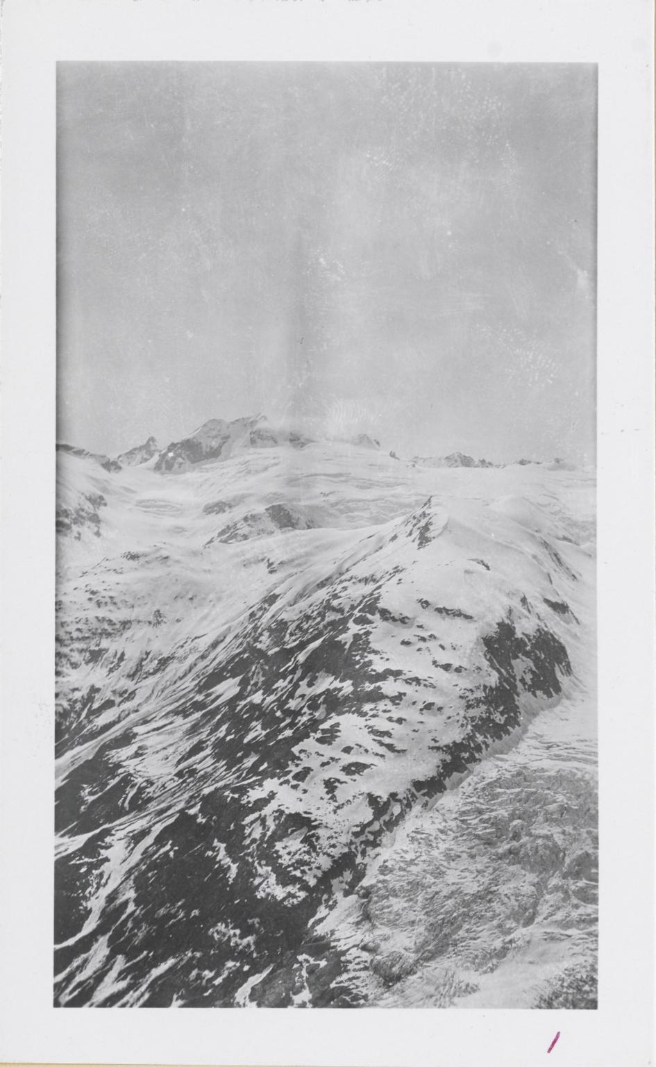 Unknown glacier, Mount Redoubt, Alaska