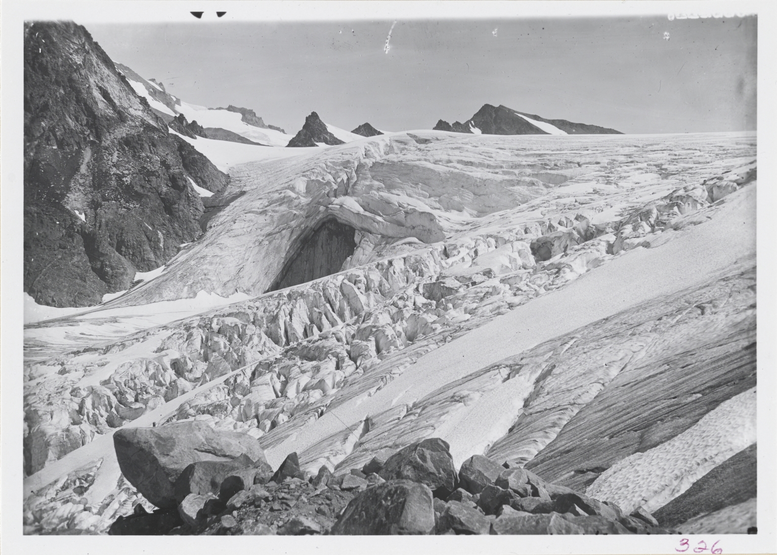 White Chuck Glacier, Washington