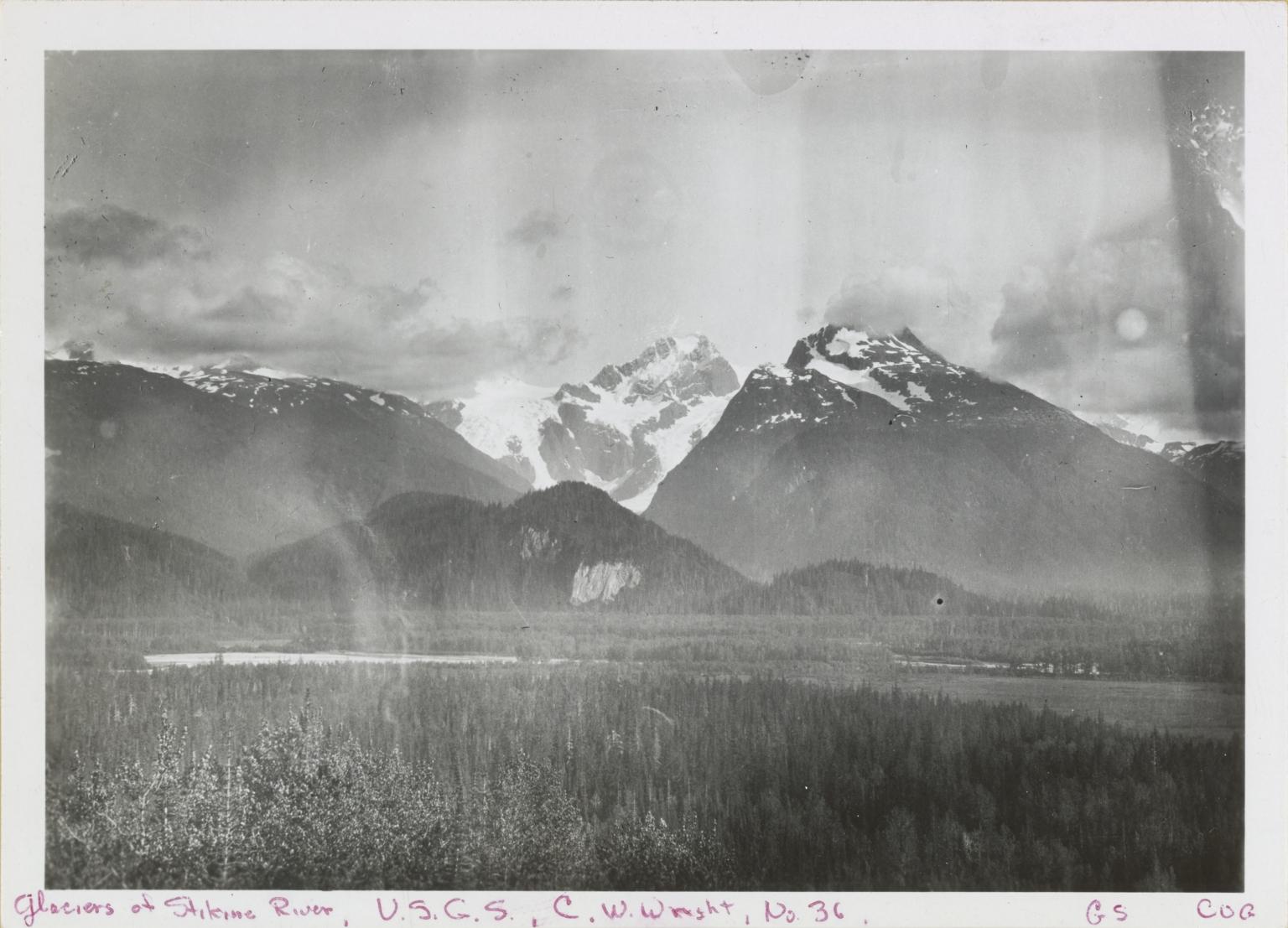 Unknown glacier near Dirt Glacier, British Columbia