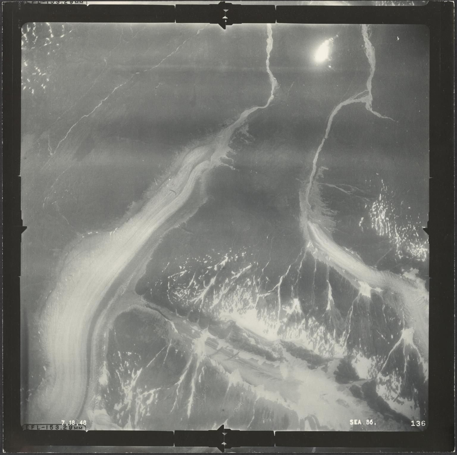 Salmon and Boundary glaciers, British Columbia, Canada