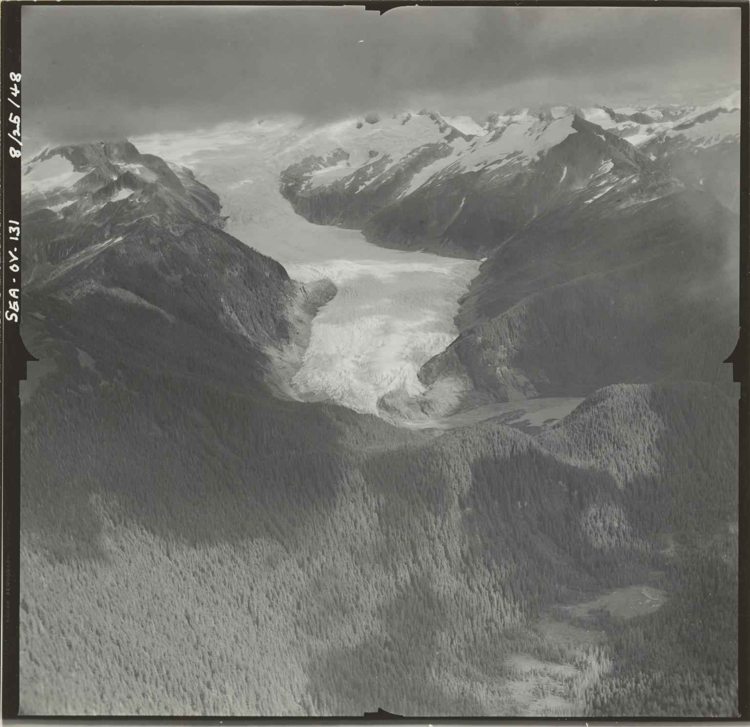 """Unknown glacier (""""Muddy River Glacier""""), Alaska"""