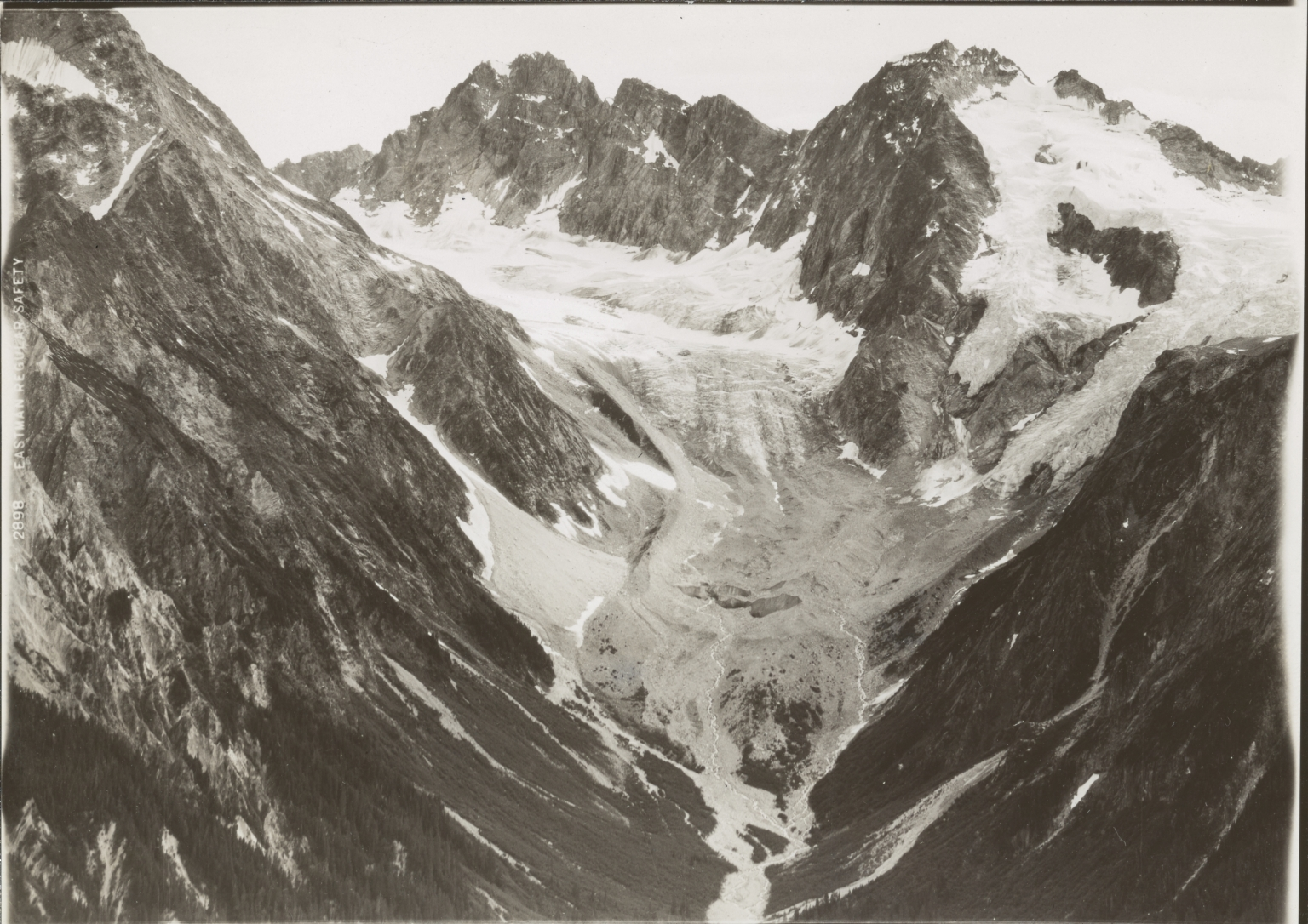 Unknown glacier near Garrison Glacier, Alaska