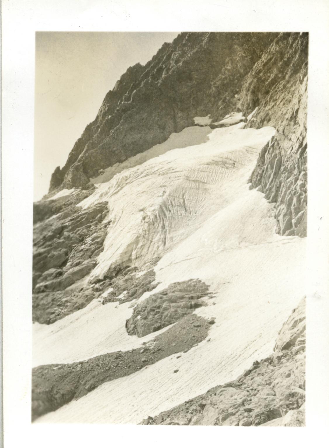 Unknown glacier