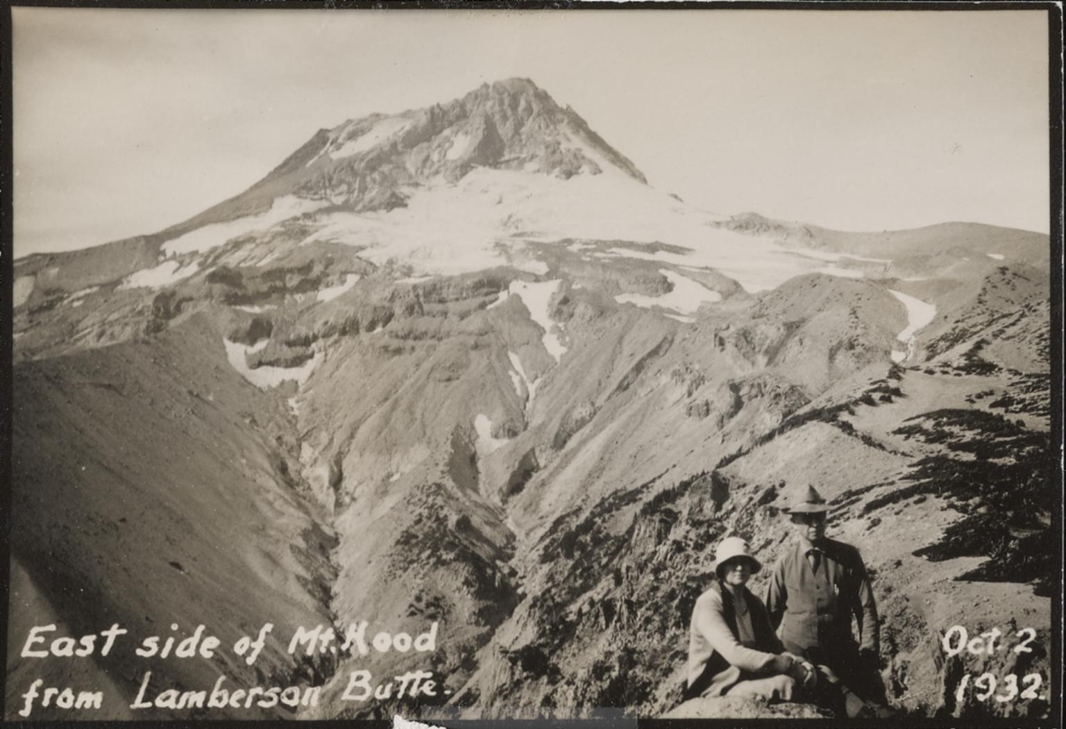 Unknown Glacier, Mt. Hood, Oregon