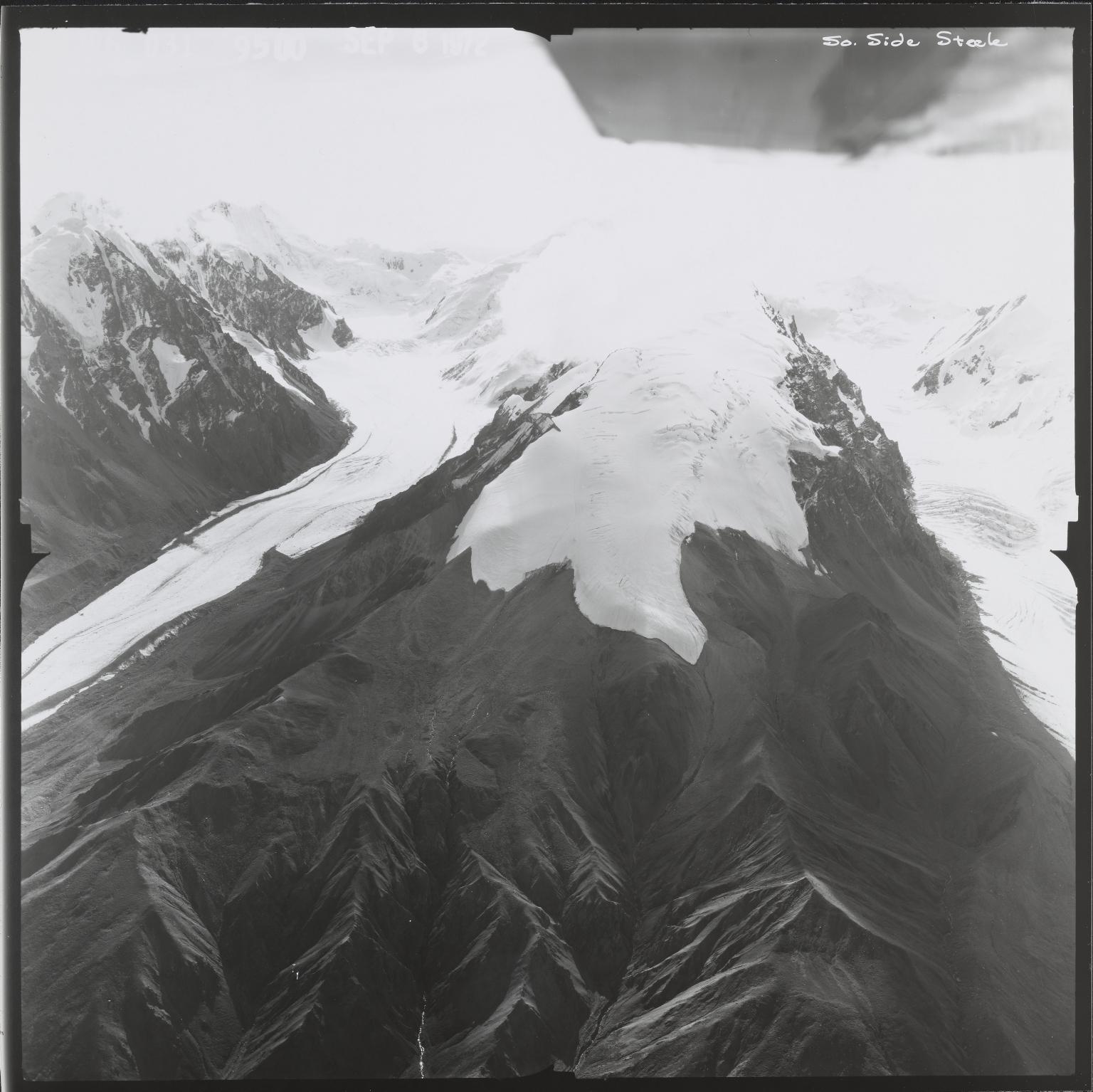 Steele Glacier, Yukon, Canada