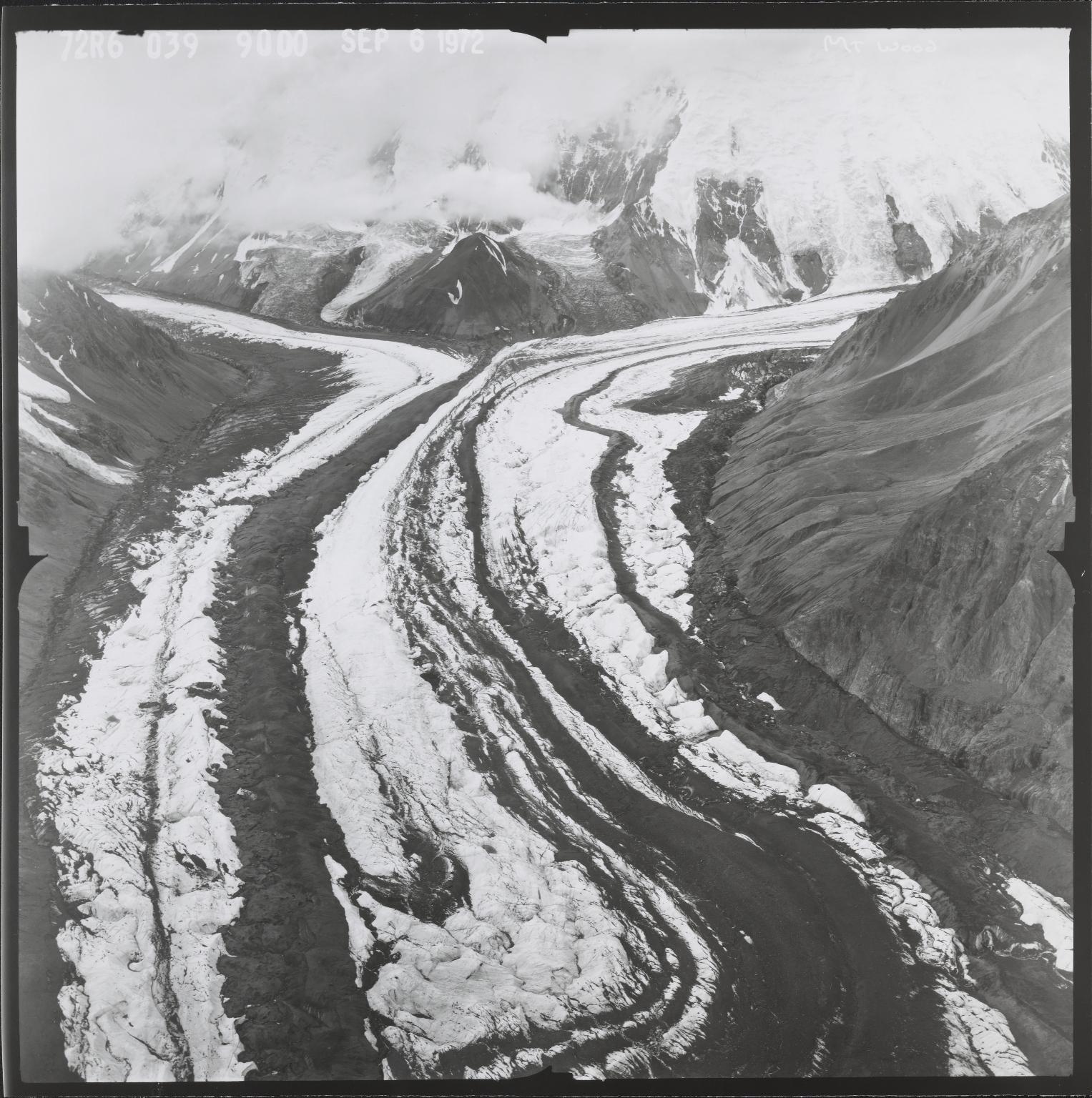 Mount Wood Glacier, Yukon, Canada