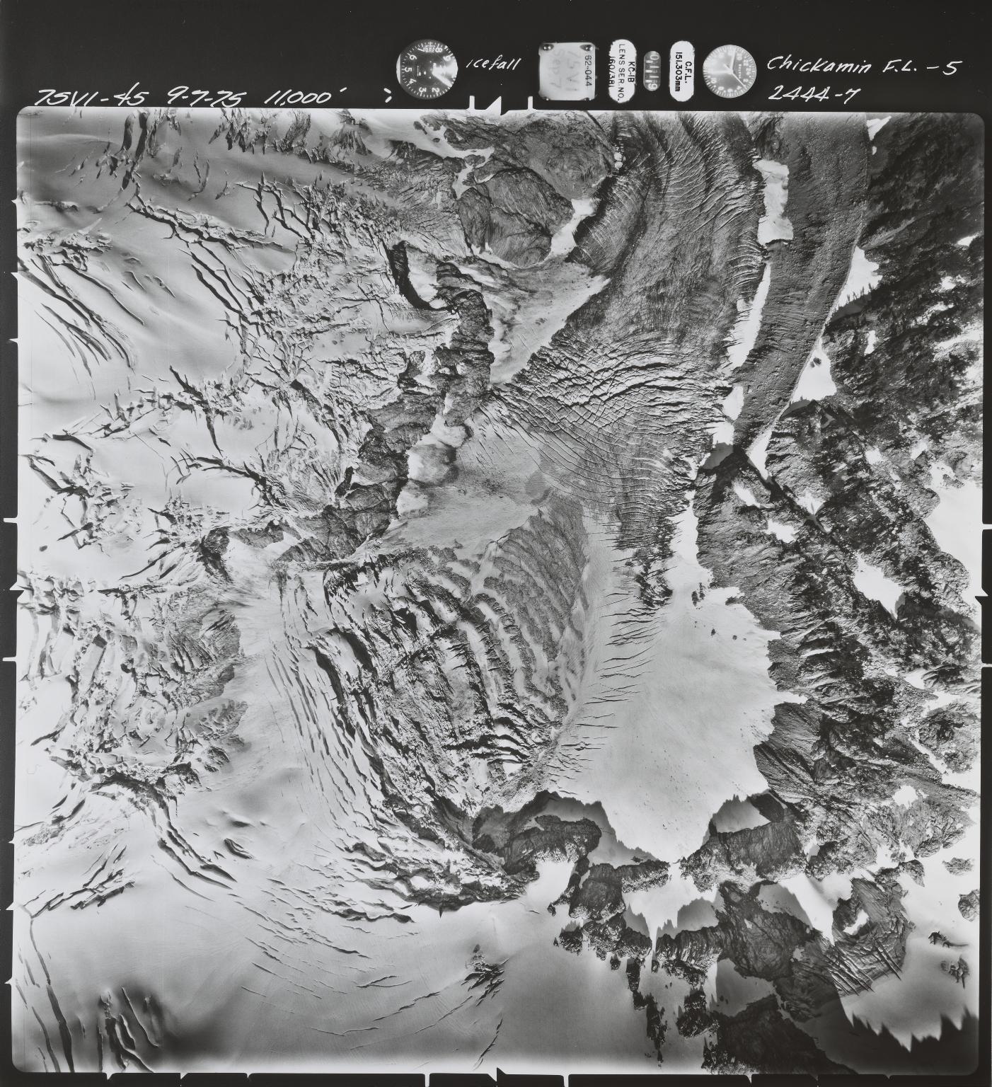 Chickamin Glacier, Washington