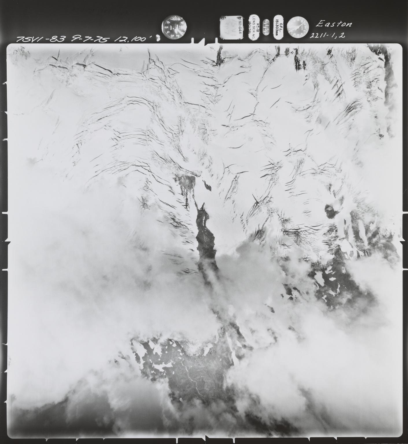 Easton Glacier, Washington