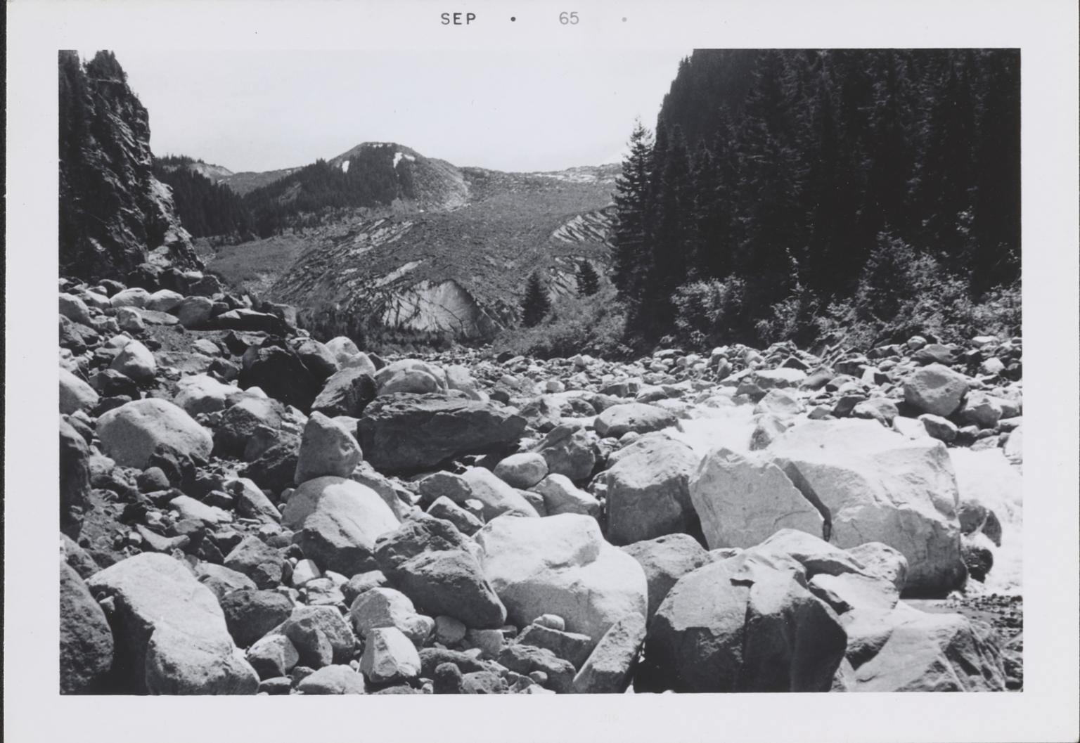 Carbon Glacier, Washington
