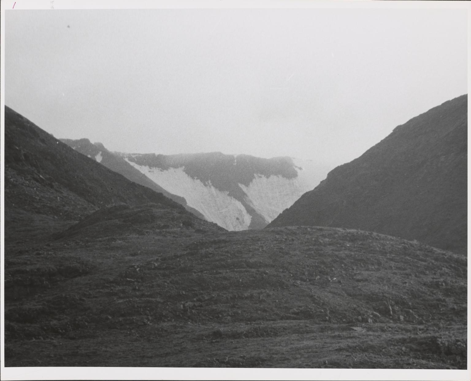 Burns Glacier, Alaska