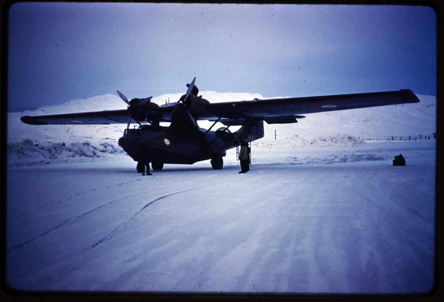 """""""Pluto"""" at Narsarsuaq Air Base, Greenland"""