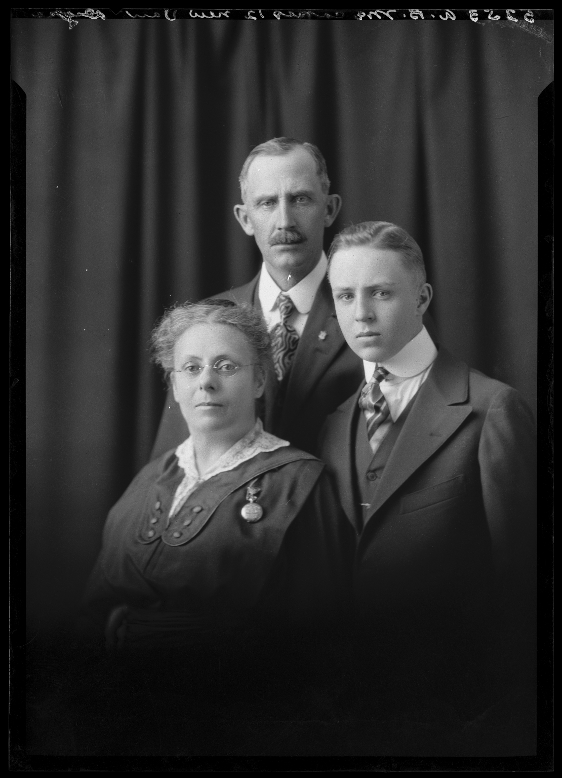 Portrait of A. B. Mocopes and family