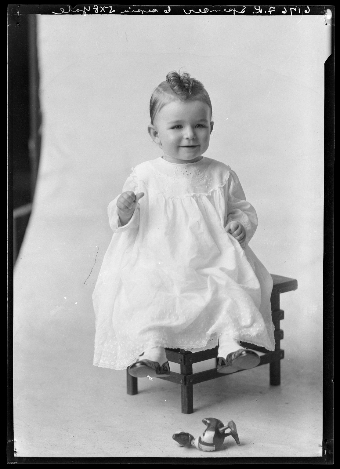 Portrait of Robert Spencer, son of Mrs. F. R. Spencer.