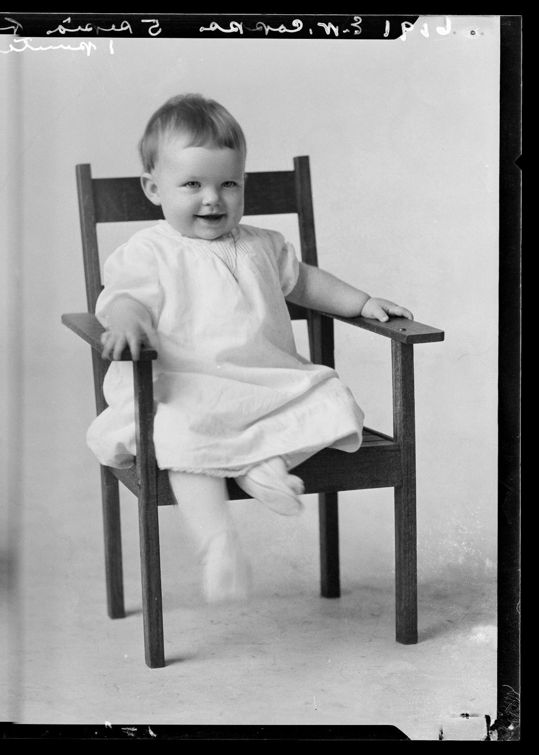 Portraits of child of Mrs. E. W. Copps