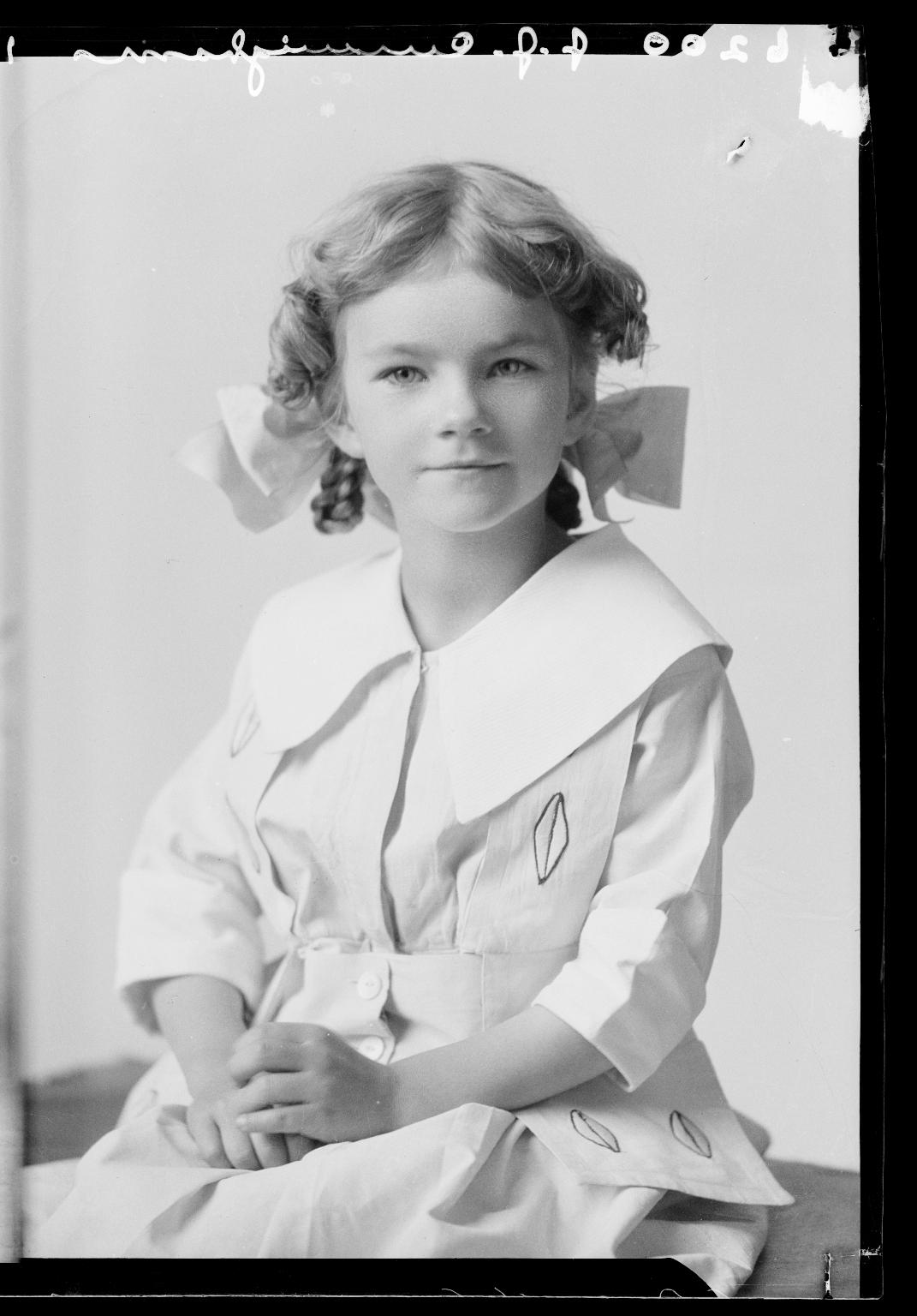 Portraits of child of Mrs. J. J. Cunningham
