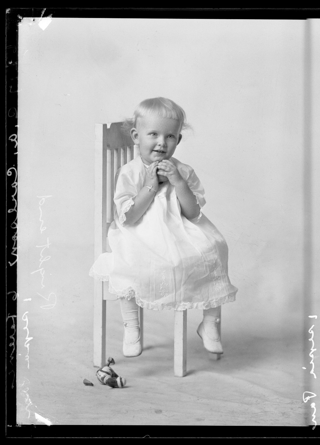 Portraits of child of C. A. Carlson