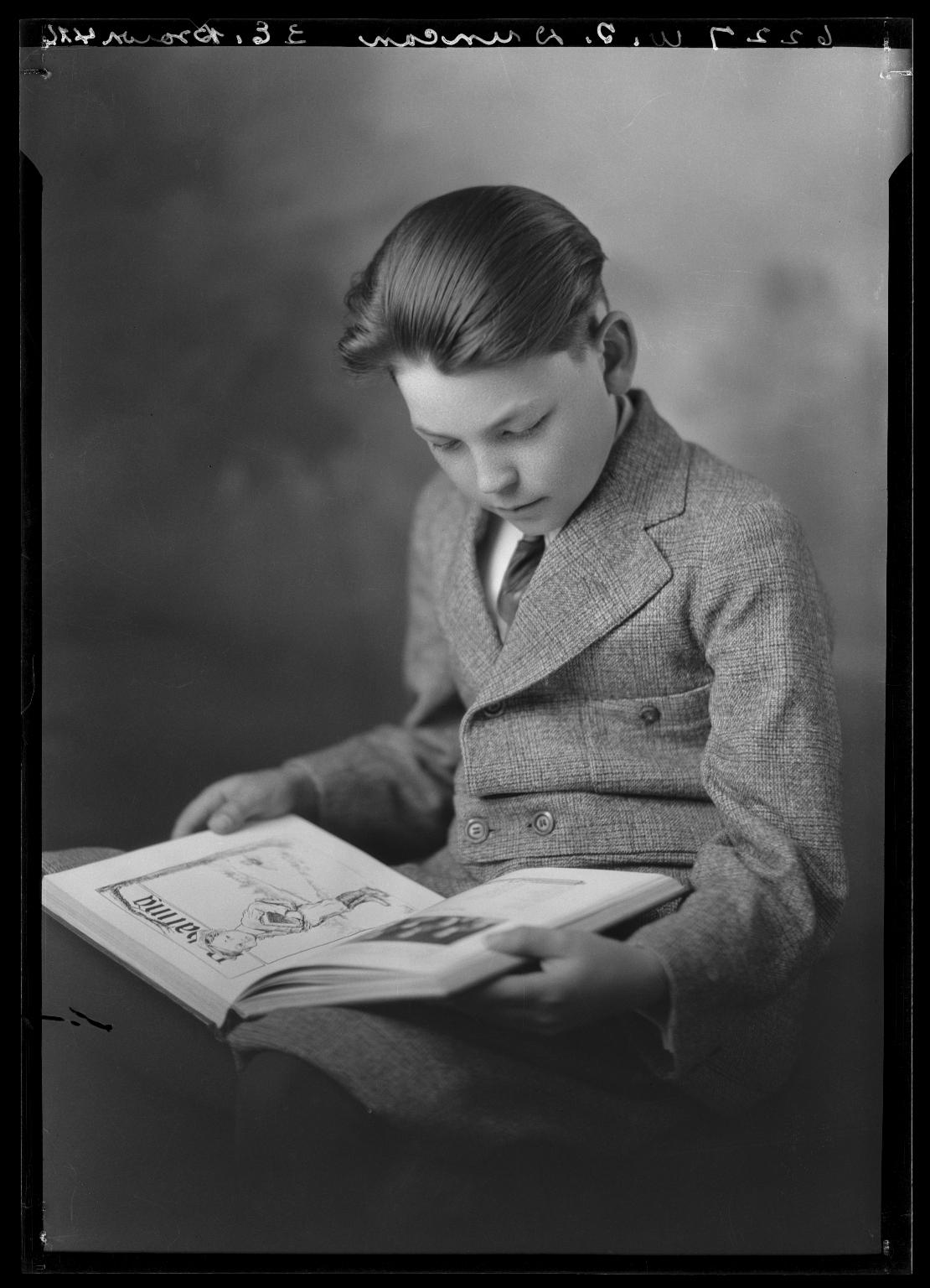 Portrait of son of Dr. W. T. Duncan