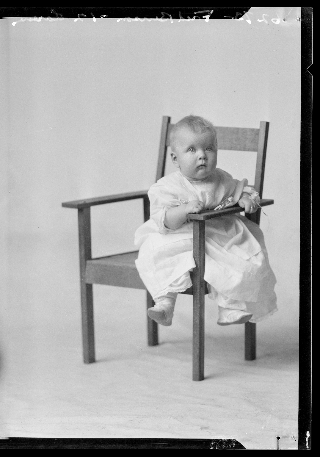 Portraits of child of Fred Benson