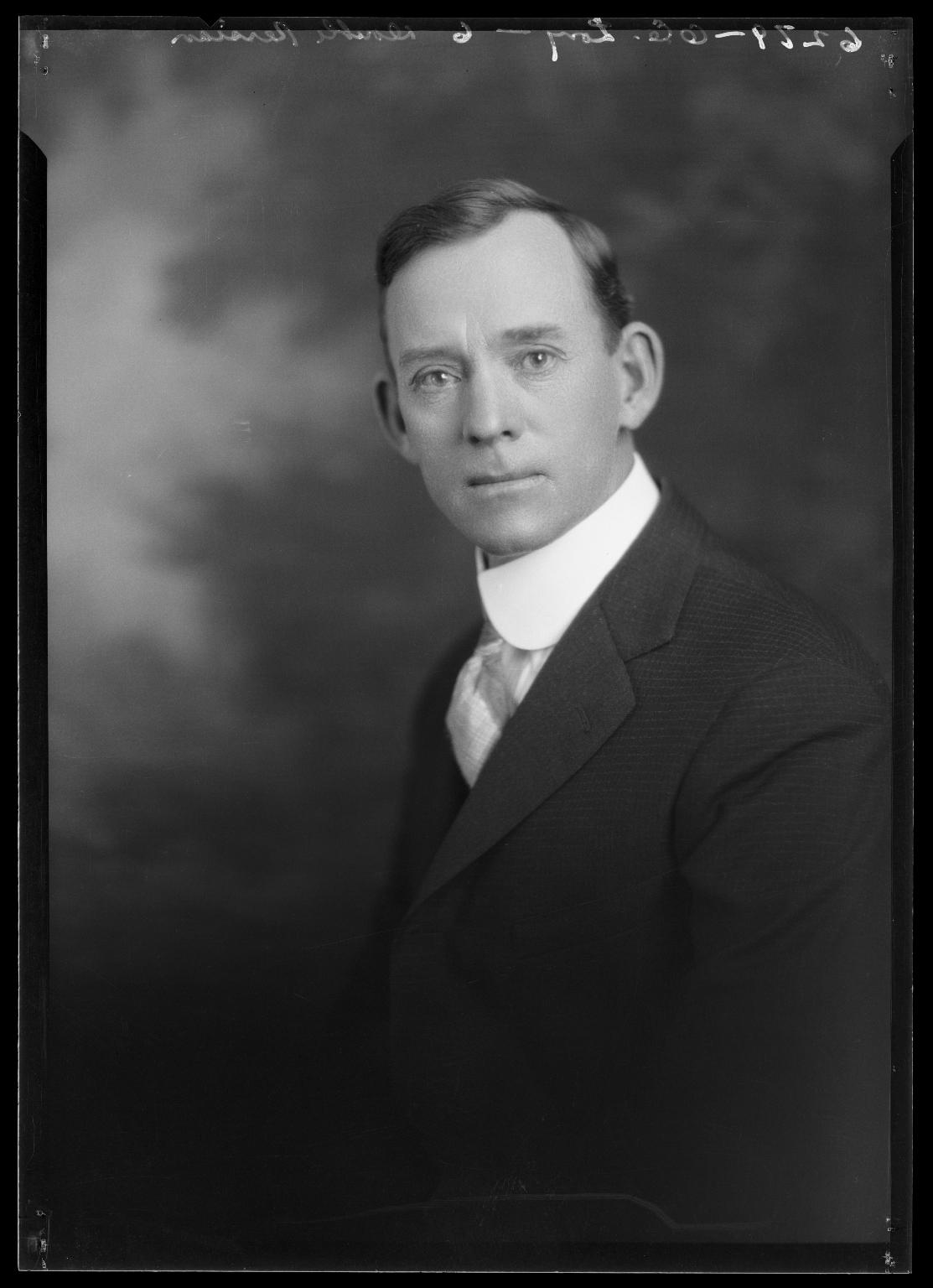 Portrait of O. E. Long